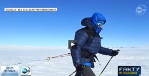 Relacja TVN24 z Antarktydy
